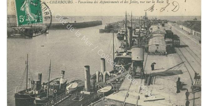 Carte postale en noir et blanc format paysage