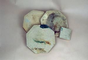 Carreau en céramique dit dalle de Mettlach fabriqué par Villeroy & Boch © EDF Copyright - Droits réservés