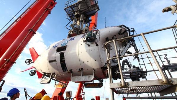 Le sous-marin chinois Jiaolong
