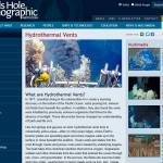 Woods Hole Oceanographic Institution - Hydrothermal Vent Systems