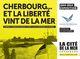 Affiche Cherbourg...Et la liberté vint de la mer