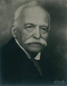 Portrait d'Auguste ESCOFFIER © Musée de l'art culinaire Escoffier
