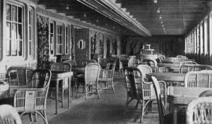 Le Café Parisien © Collection « Titanic The Ship Magnificent »