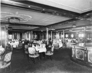 Le restaurant À la carte © Collection « Titanic The Ship Magnificent »
