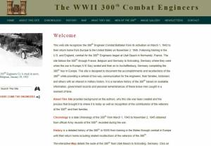 The WWII 300th Combat Engineers