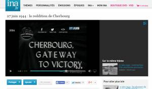 INA - 27 juin 1944 : la reddition de Cherbourg