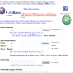 Search Fishbase