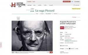 Interview radiophonique - Auguste Piccard et le premier bathyscaphe - RSR (12 janvier 1954)