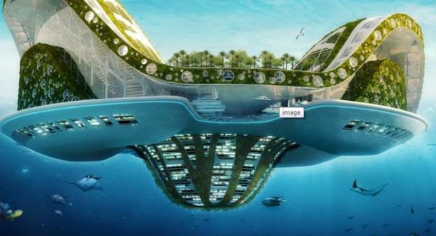 Le projet de cité flottante