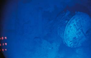 1985 : le Titanic est localisé © Archives Woods Hole Oceanographic Institution