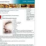 Bibliothèque du Centre d'océanologie de Marseille