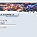Cliquez sur l'image pour accéder au site Web Bibliothèque du Musée océanographique de Monaco