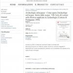 """Actes de colloque """"Archeologia subacquea : come opera l'archeologo : storie di acque"""" - Siene - 9 au 15 décembre 1996"""