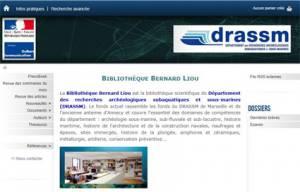 DRASSM - Bibliothèque Bernard Liou