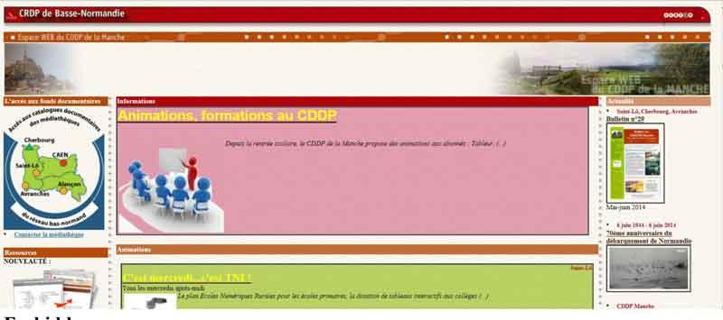 Cliquez sur l'image pour accéder au site Web du CDDP-Manche