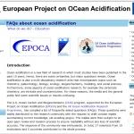 Foires aux questions sur l'acidification des océans