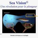 de plongée avec affichage intégré Sea vision © Jordan Singkouson
