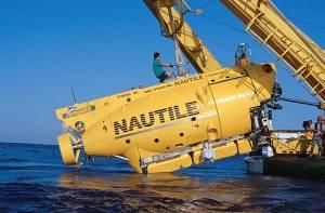 Sur les 8 expéditions archéologiques menées sur l'épave du Titanic, 5 ont été réalisées avec le sous-marin français Nautile © 1998 RMS Titanic, Inc. / Matthew Tulloch