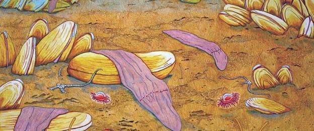 Un pastel du ver marin