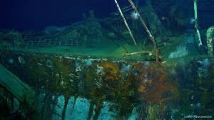 """L'épave du """"SS City of Cairo"""" à 5150m de fond © Deep Ocean Search LTD"""