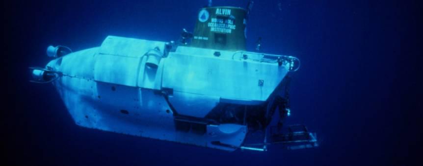 Le sous-marin américain Alvin © WHOI