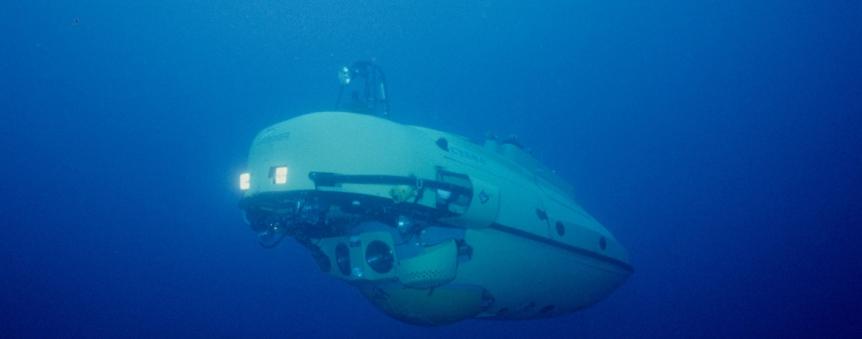 Cyana en plongée © Ifremer