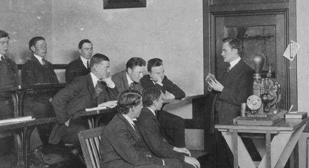 Enseignant, Fall River, Massachusetts, 14 juin 1916 © Library of Congress