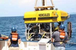 Le robot sous-marin HERCULES (ROV) © Ocean Exploration Trust