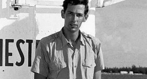 Jacques Piccard en 1960 © Photo courtesy of Life Magazine via Bill Gonyo/U.S. Naval