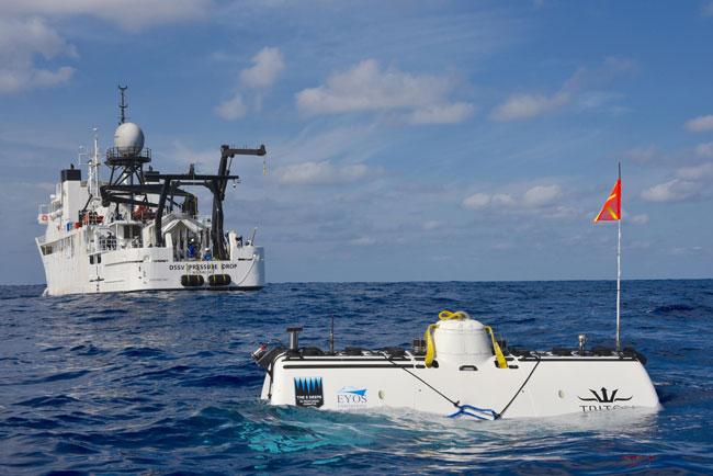 Le sous-marin Limiting Factor
