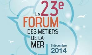 Affiche Forum des Métiers de la Mer 2014 © Institut Océanographique