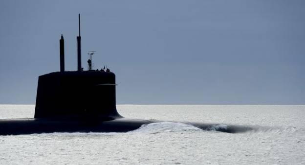 Un Sous-marin Nucléaire Lanceur d'Engins (SNLE) type le Triomphant © Marine Nationale / A. Monot