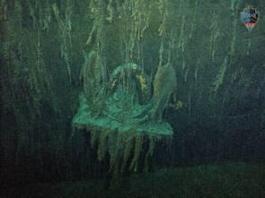 L'ancre du Titanic © OceanGate Expeditions