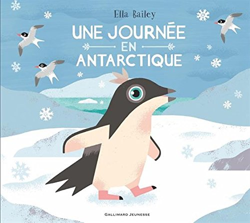 Une journée en Antarctique © Ella Bailey/Gallimard Jeunesse