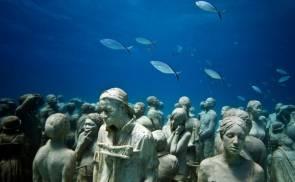 Sculptures sous la mer © Jason deCaires Taylor