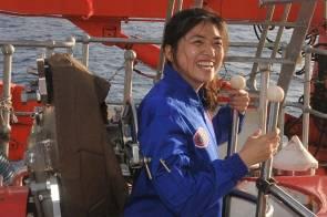 Zhang Yi, première pilote chinoise à bord du sous-marin Jiaolong © Photo/Xinhua