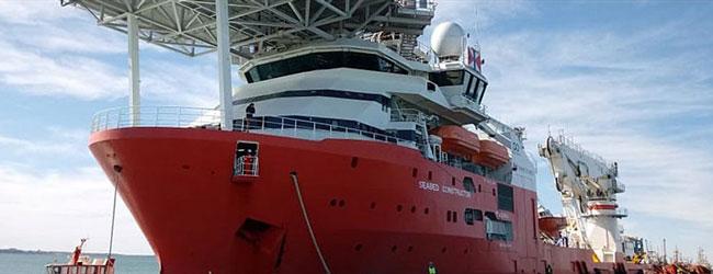 Le navire américain Seabed Constructor recherche la Minerve ©Argentina.gob.ar