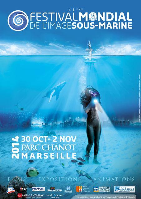 Festival mondial de l'image sous-marine - Affiche 2014
