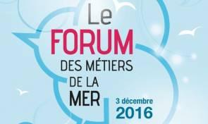 Affiche Forum des Métiers de la Mer 2016 © Institut Océanographique