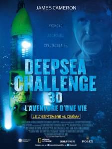 Affiche DEEPSEA CHALLENGE 3D de James CAMERON