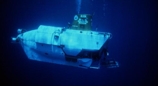 Le sous-marin habité américain Alvin © WHOI
