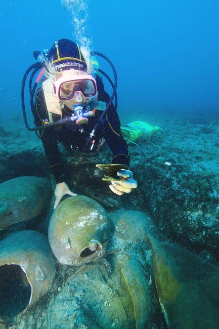 C'est une découverte exceptionnelle et très rare pour les archéologues ! © Cliché A joncheray