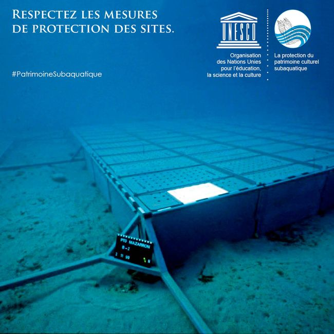 Respectez les mesures de protection des sites ©Arqua/UNESCO