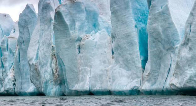 Glacier en Arctique © Northwest Passage Project
