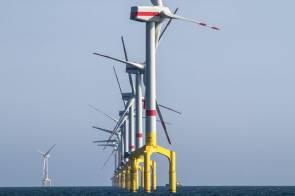 """Parc éolien offshore en Allemagne """"BARD Offshore 1"""" © Bard"""