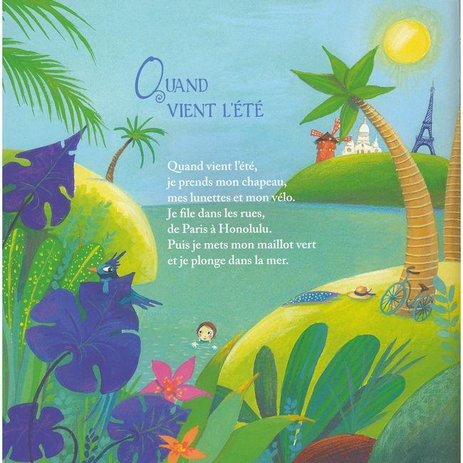 Extrait de l'album Contes et comptines de Mer et de soleil / France Quatromme ; illustré par Virginie Grosos. - Spézet : Beluga/Coop Breizh, 2016