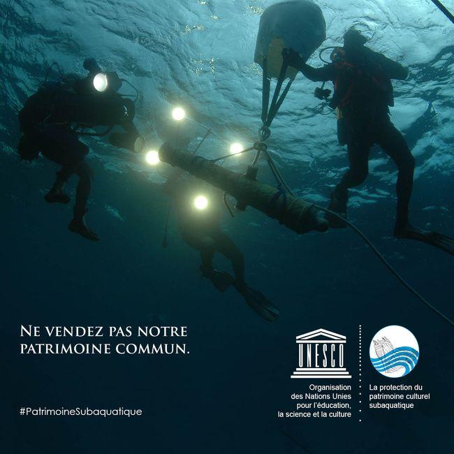 Ne vendez pas notre patrimoine commun © Christian Grondin/UNESCO