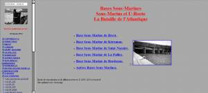 Bases sous-marines