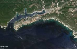 Bonifacio, Corse © Google Earth