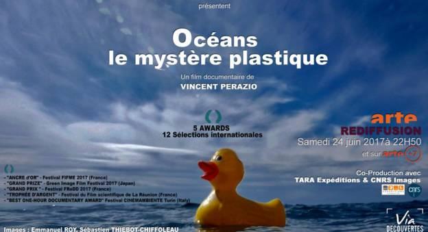 Océans : le mystère plastique un documentaire de Vincent Perazio © Arte Editions